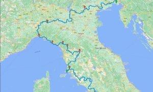 La via Postumia ciclabile continua sulla Tuscus Way e raggiunge Roma