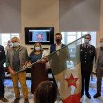 La Bandiera Partigiana della Brigata Garibaldi è stata restaurata e sarà esposta in biblioteca a Tortona