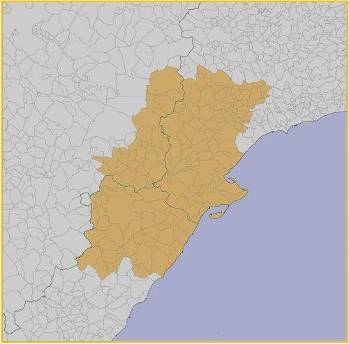 Territorio de la Ilercavonia, pueblo íbero que ocupó toda la zona de la desembocadura del río Ebro.