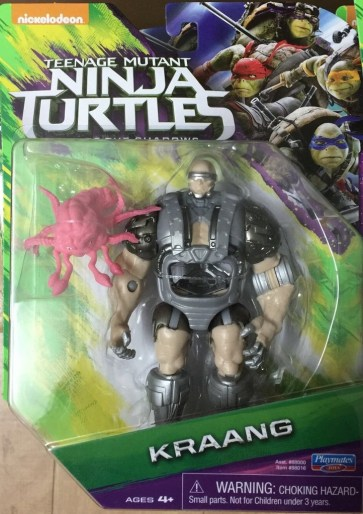 Blister Image Kraang Krang Film Ninja Turtles 2016 Tortues Ninja TMNT
