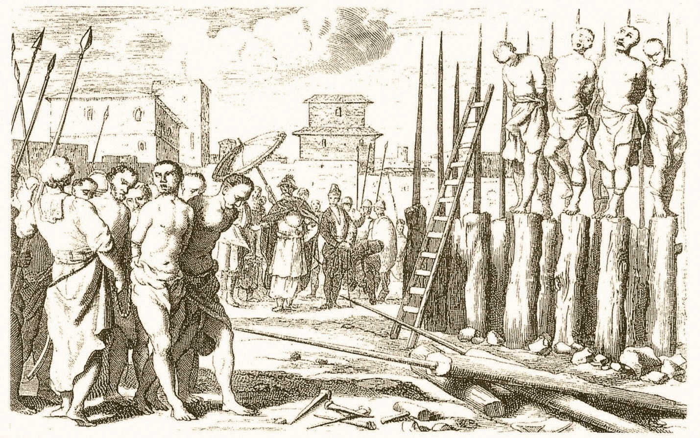 history of execution The history of the guillotine started long before the french revolution, but when and where exactly the last execution with the halifax gibbet took place in 1648.