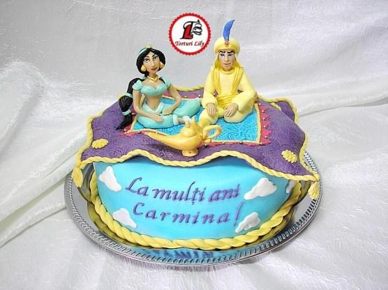 Tort Aladin si Jasmin_cake Aladin and Jasmin