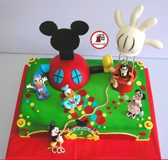 tort cake club mickey mouse