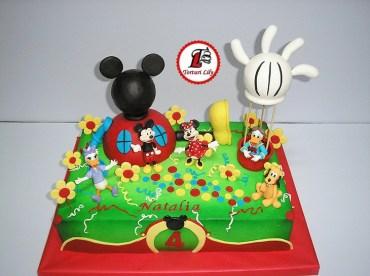 tort clubul lui mickey mouse_dreptunghiular 6