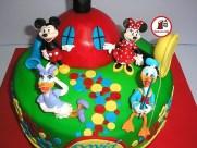 tort clubul lui mickey mouse_rotund 0