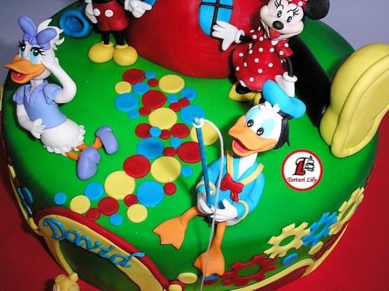 tort clubul lui mickey mouse_rotund 10