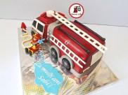tort masina pompieri 5