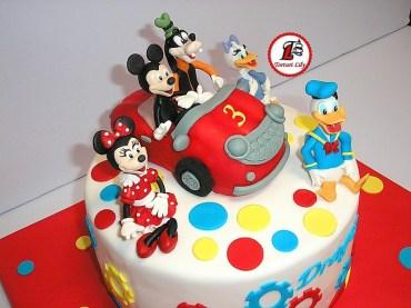 tort mickey mouse masinuta 02