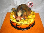 tort mistret vanatoare_cake wild hog hunting 1