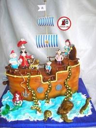 tort piratii din tara de nicaieri si ariel 11