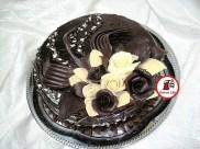 tort trandafiri de ciocolata 4