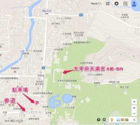 ★地図:駐車場