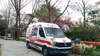 ambulance トルコ イスタンブール 救急車 アンビュランス