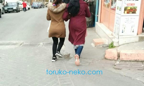トルコ人の歩き方