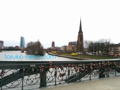 ドイツ マインの街並みの写真 画像