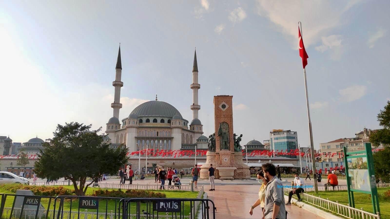 トルコ イスタンブール タクシム広場