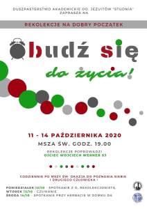 2020-10-11 msg Reko na Dobry Poczatek - o Wojtek Werner SJ