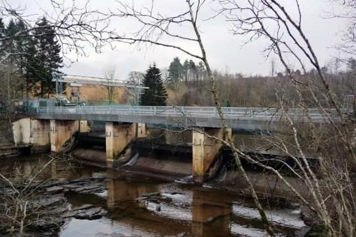 Bonnington Weir and Stonebyres Bridges