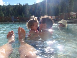 Granite Falls hot springs. Hard to get to, but quite a gem.