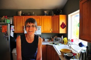 Grandma's in the kitchen!