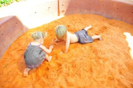 Red Butte sand pits. Fun - and cool.