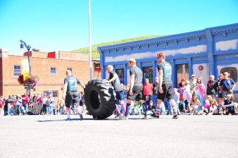 The heavy lifters decide that rolling the wheel beats flipping it.