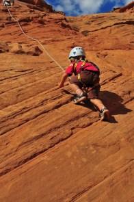 Climb on. Climbing!