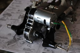 Motor mounted.
