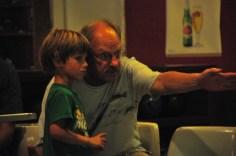 Grandpa Gary givin' tips.