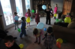 Balloon popping for numbers.