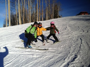 Christmas Day family ski!