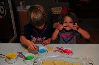 Tegan might be a dental hygienist one day.