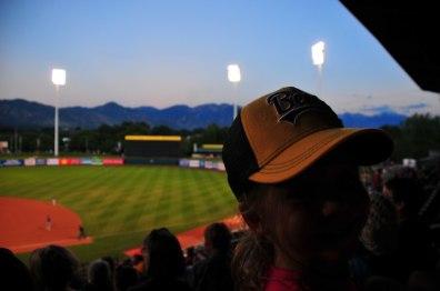 Tegan got a new Bees hat!