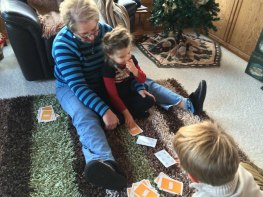 Cards with Grandma Pat