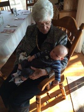 Grandma Jeane and baby Freddie