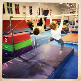 Swinging the uneven bars