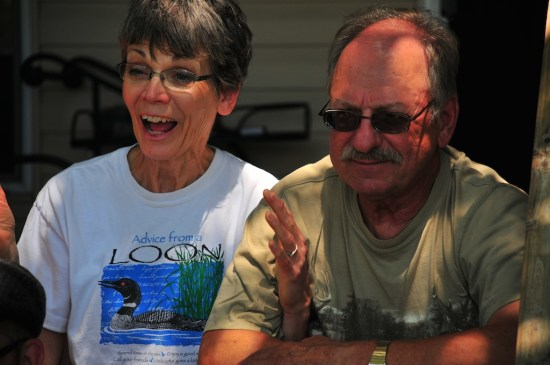 Grandpa and Grandma, a couple of loons.