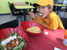 A delicious lunch at the Science Museum