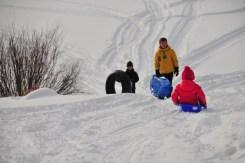 More sledding!