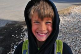 Tory, great smile kid.