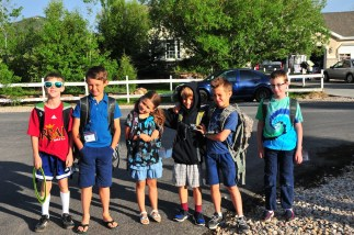 Spring Creek Bus Stop Crew