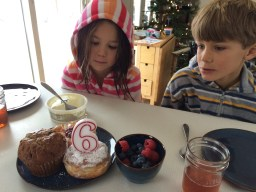 The day of birthday treats