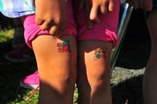 Tegan's tatoos