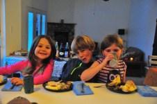 Three good kids.