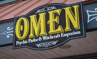 Omen Psychic Parlor and Witchcraft Emporium Psychic Reading Tarot Decks