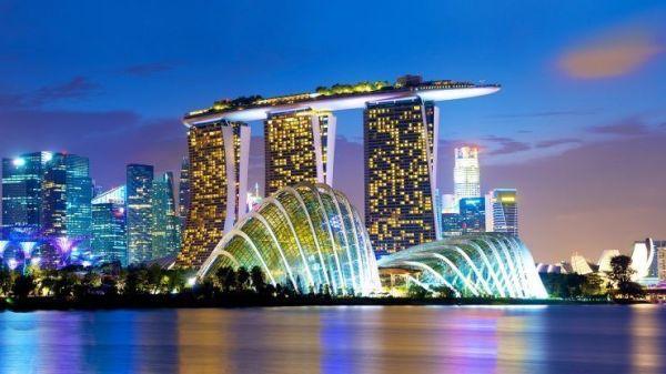 Marina Bay Sands, en Singapur