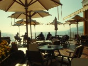 The terrace, Cenobio Dei Dogi, Portofino Coast