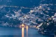 Twilight in Positano in early December