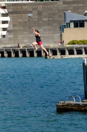 A leap off the wharf into the unknown