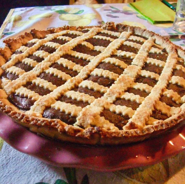 Chocolate and Ricotta Cheese Pie